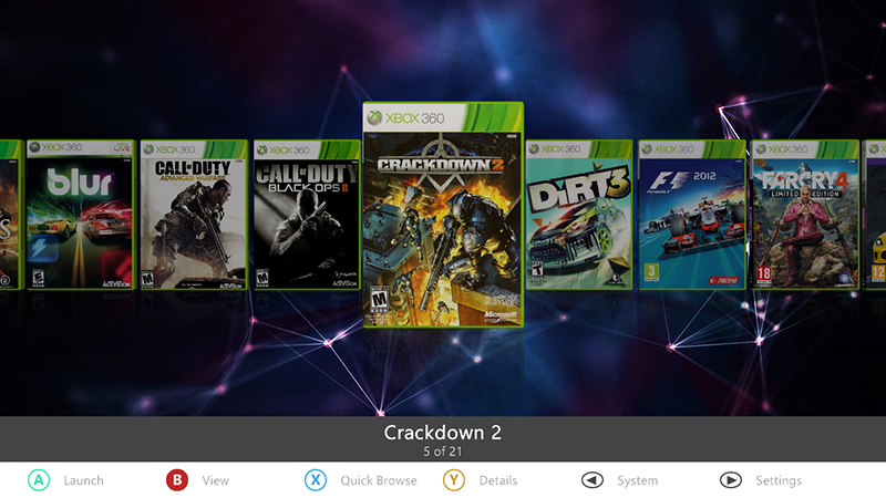 Download Themes Skins on Aurora Dashboard for FreeBoot Xbox 360