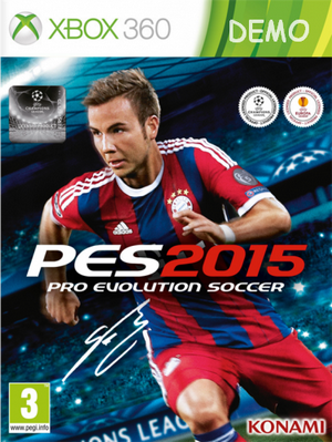 (Demo) Pro Evolution Soccer 2015 (RUS)