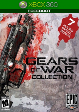 Gears of War Complete Quadrilogy Collection + DLC (FreeBoot/GoD/Ru)