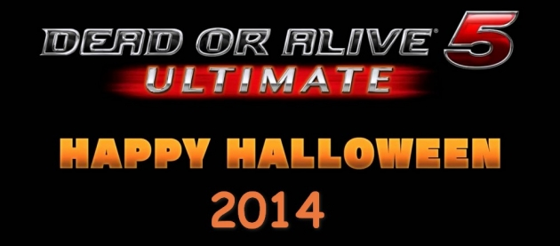 DLC для Dead or Alive 5 Ultimate все на Хэллоуин 2014