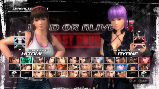Dead or Alive 5: Last Round - Дата релиза, новые скриншоты и геймплей