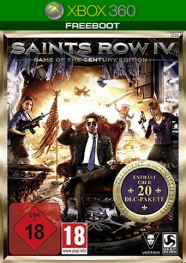 Saints Row IV: Game of the Century Edition (GoD/FreeBoot)