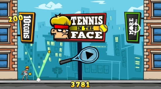 Tennis in the Face Скриншоты с PS4