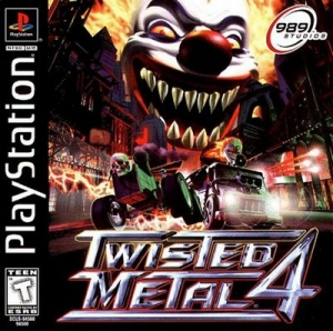 Twisted Metal 4 (PS1 PSX Playstation Rus)