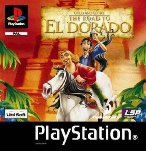 Gold & Glory The Road to El Dorado (PS1 RUS)