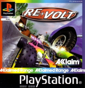 Re-Volt Racing out of Control PS1