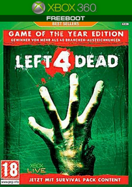 Left 4 Dead Game of The Year Edition (JTAG/RUS)