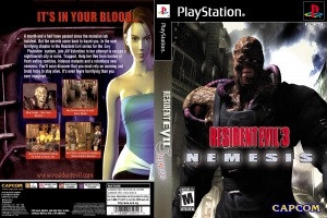 Resident Evil 3 Jill's Nightmare (PS1 мод Akella)